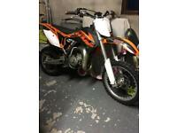 2014 ktm 85sx (small wheel)