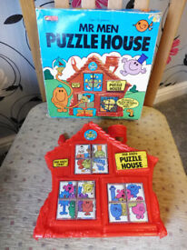 mr men bundle puzzle and aqua doodle