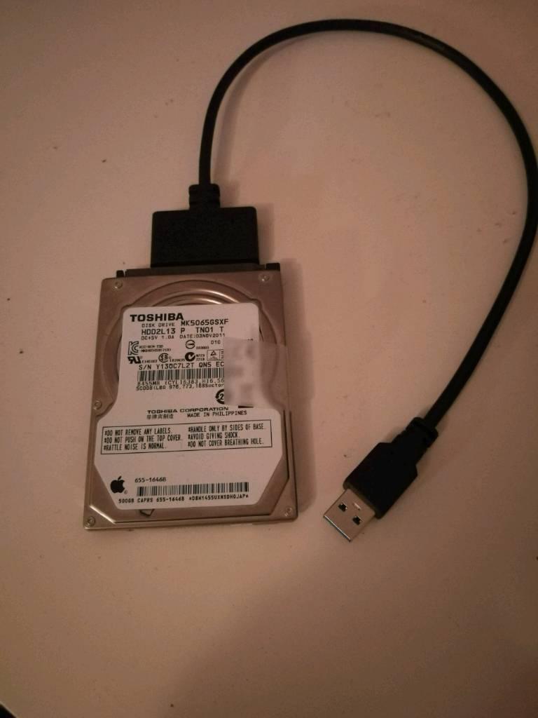 500GB Toshiba HDD2L13 Mac Hard Drive | in Westbury On Trym, Bristol |  Gumtree