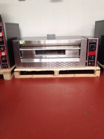 Gas Pizza Oven Commercial Single Deck Brand New / RESTAURANT / TAKE AWAY