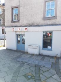 Shop for rent 2 Buccleuch Street Hawick £50 a week