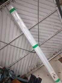16x Heavy gauge electrical conduit 20mm diameter - 2 metre lengths