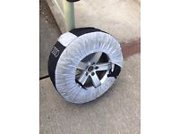 Audi A4 Allroad winter alloy wheels and tyres - full set - bought from Audi - excellent condition