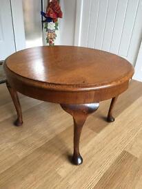 1950's oak coffee table