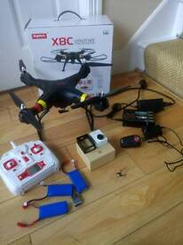 Complete Drone quality Cam package. Syma with Xiaomi Cam with extras