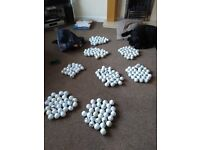 160 used golf balls, suitable for practice
