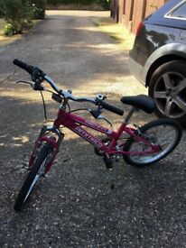 Barely Used Girls Bike For Sale