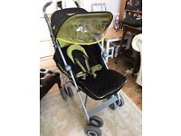 Maclaren XLR Techno pushchair (Black / Lime)