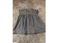 Baby girl dress 0-3 months from next, worn once