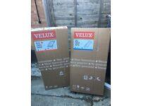 UNOPENED Velux window&Flashing-Centre pivot-White face-GGL,CK04,2070- 55cm x 98cm