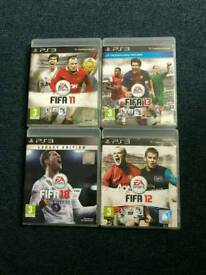 PS3 Fifa selection of Games