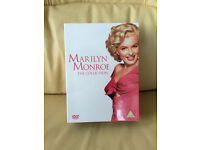 New Marilyn Monroe the collection with 7 DVDs