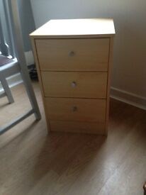 Bedside table, good condition, sturdy and heavy, £20