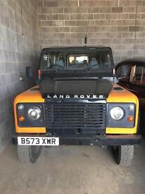 1986 Landrover 110 hi cap truck