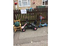 Toys kids table chair lots more