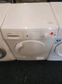 Bosch 8kg condenser dryer with warranty and fast delivery