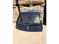 Corsa c 2005 boot lid tailgate in ultra blue z21 07594145438