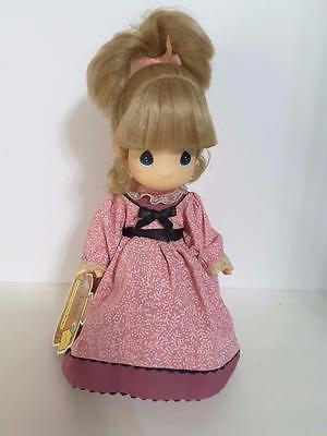 Precious Moments Doll with Children of the World CARLAFeb 1994 NO SHOE [*]