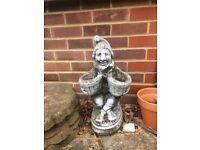 Concrete Garden Gnome