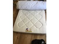 Soft slightly used double mattress