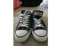 Brand new blue converse trainers- size 9