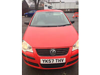 2007 vw polo new mot