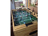 Big, heavy good quality football table for sale