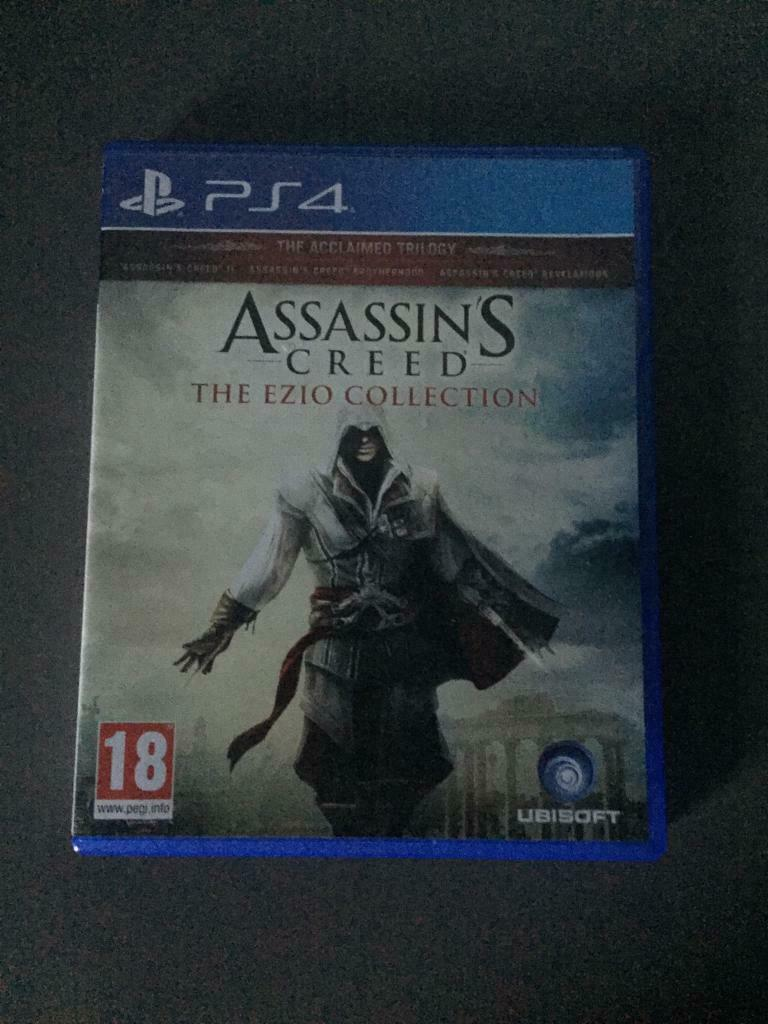 Playstation 4 Games 3 In 1 Ps4 Game Assassins Creed The Ezio