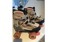Girls adjustable Roller Skates - SF Typhoon
