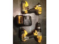 Dewalt 18volt impact driver drill set