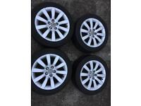 4X ALLOY WHEEL AUDI A3 Vw Skoda passed S LINE 215/45R16 90 V