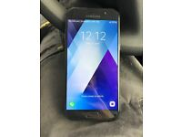 Samsung a5 2017model 32gb handset black