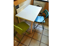 IKEA table + two chairs
