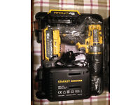 Stanley Fatmax FMC625D2 cordless drill - unused, unwanted birthday present