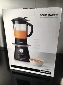 Cuisinart Soup Maker - new