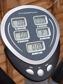 Fitnessform® X10: Cross Trainer & Exercise Bike