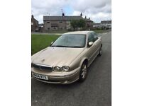 Gold Jaguar X Type, Full Leather/electrics,tidy, good runner, 60mpg MOT/tax just ended hence price.