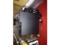 PS3 500gb + 2 controllers, leads + HDMI, Batman arkham city
