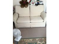 Sofa bed, good condition, metal bed frame.