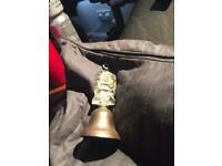 Brass bell ship handle