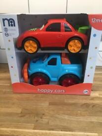 NEW & BOXED Mothercare Happy Cars