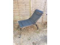 Fishing chair fully adjustable reclining