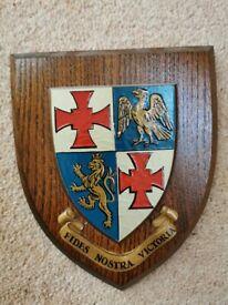 Heraldic Shield, St. Johns College, Durham