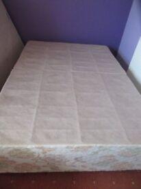 """4'6"""" double divan bed base"""