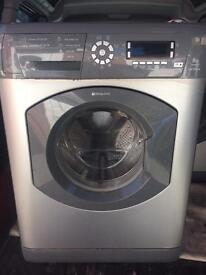 Hotpoint washing machine 8kg 1600rpm Free delivery and fitting