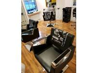 3 Salon/ hairdressing/ barber chairs