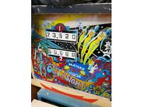 7 vintage pinball machines bally williams gottlieb