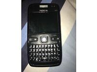 Nokia E72 mobile phone mint condition