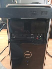 Desktop PC. dell inspiron 545 cpu and acer 19inch wide screen monitor for sale.