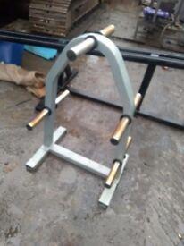 Gym weight rack
